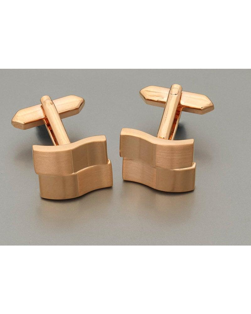 WEBER Bronze Rectangle Cuff Links