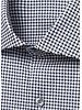 BUGATCHI UOMO Modern Fit Black & White Neat Shirt