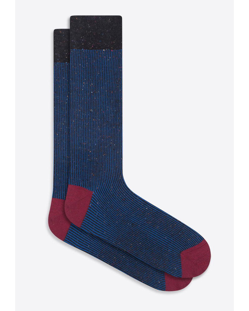 BUGATCHI UOMO Royal Tight Stripe Socks