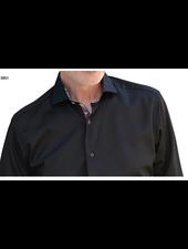 7 DOWNIE Modern Fit Black Shirt
