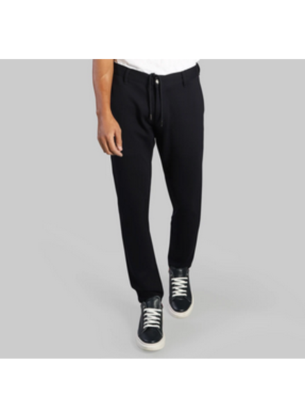 7 DOWNIE Modern Fit Navy Jersey Pant