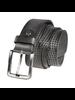 7 DOWNIE Black Grey Dotted Belt