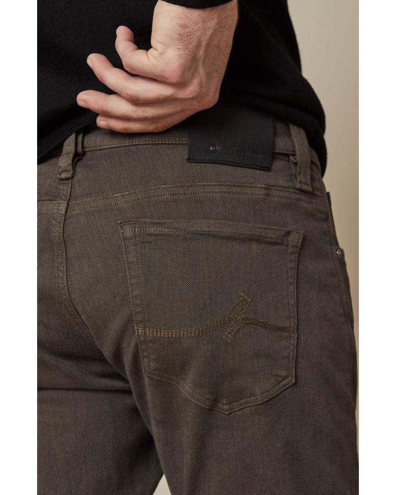 34 HERITAGE Slim Fit Taupe Diagonal Pant