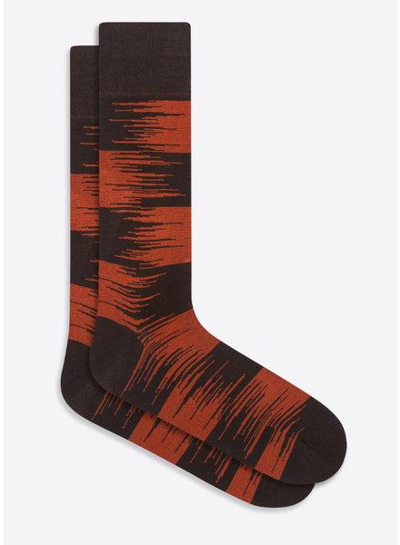 BUGATCHI UOMO Chocolate Socks
