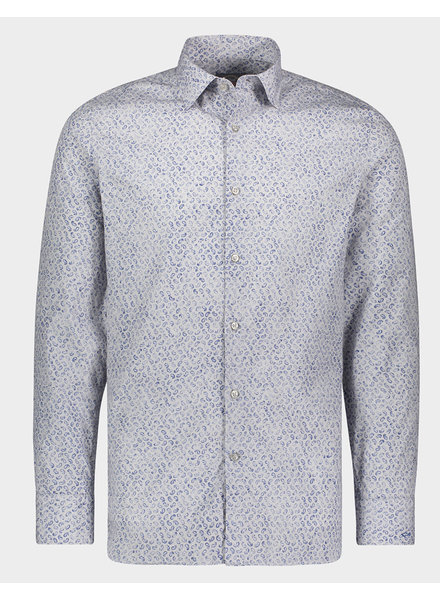 PAUL & SHARK Modern Fit Grey Paisley Shirt