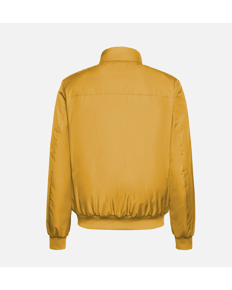 GEOX Bomber Jacket with Knit Cuff