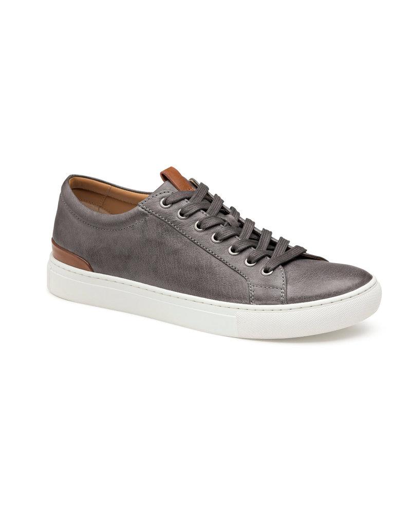 JOHNSTON & MURPHY Grey Banks Sheepskin Lace to Toe Shoe
