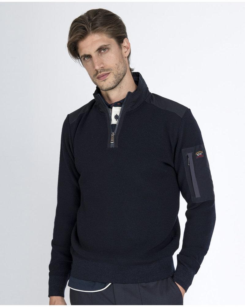 PAUL & SHARK Plain 1/4 Zip Sweater