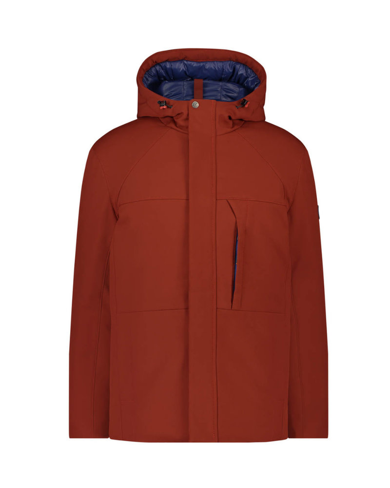 A FISH NAMED FRED Rust Soft Shell Jacket