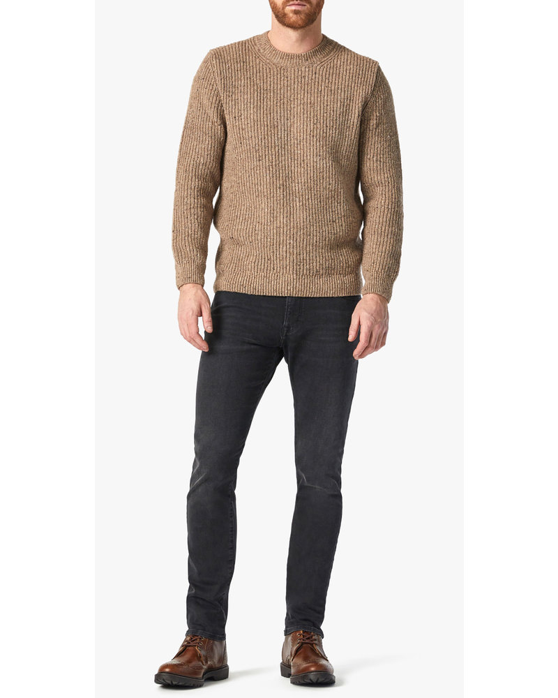 34 HERITAGE Modern Fit Charcoal Organic Cotton Jeans