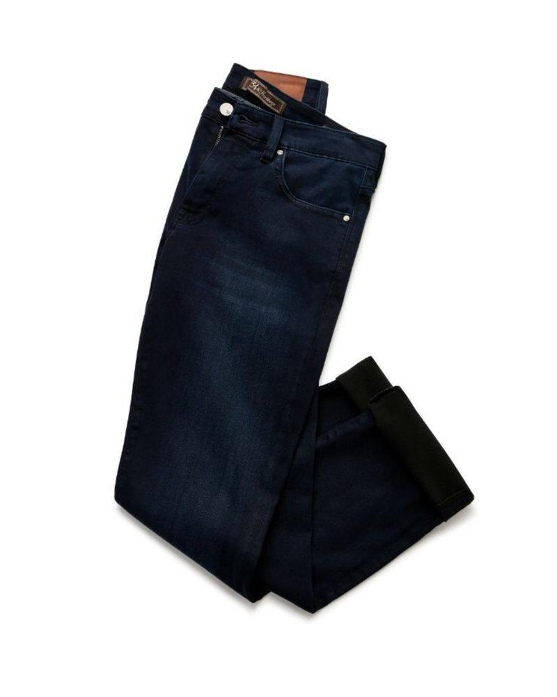 34 HERITAGE Slim Fit Dark Blue Denim Jeans
