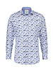 A FISH NAMED FRED Modern Fit Navy Fish Shirt