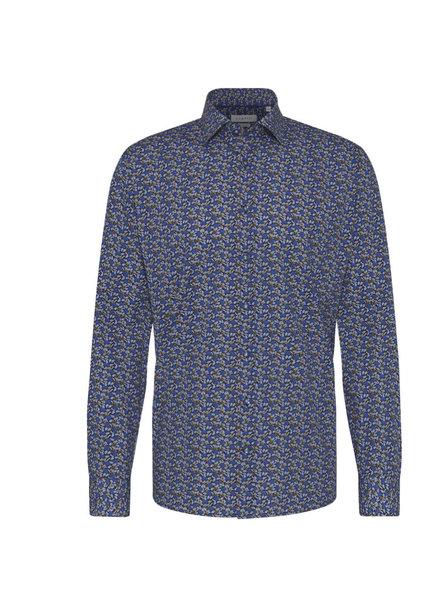BUGATTI Modern Fit Navy Floral Shirt