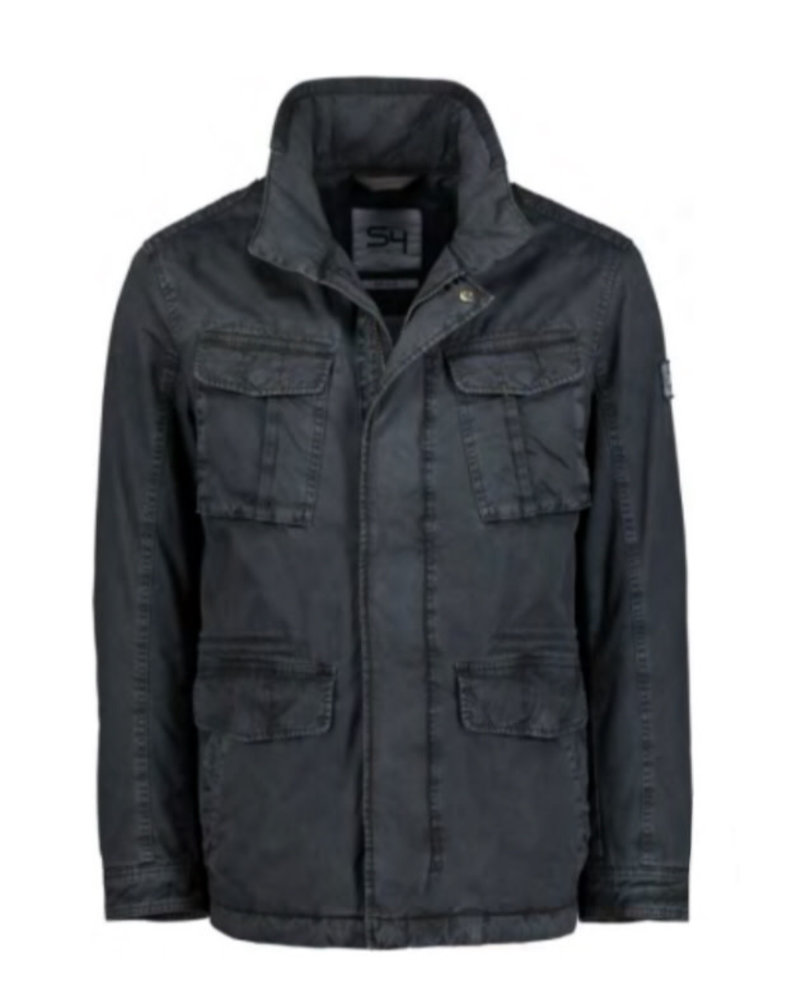 S4 Charcoal Washed Cotton Jacket