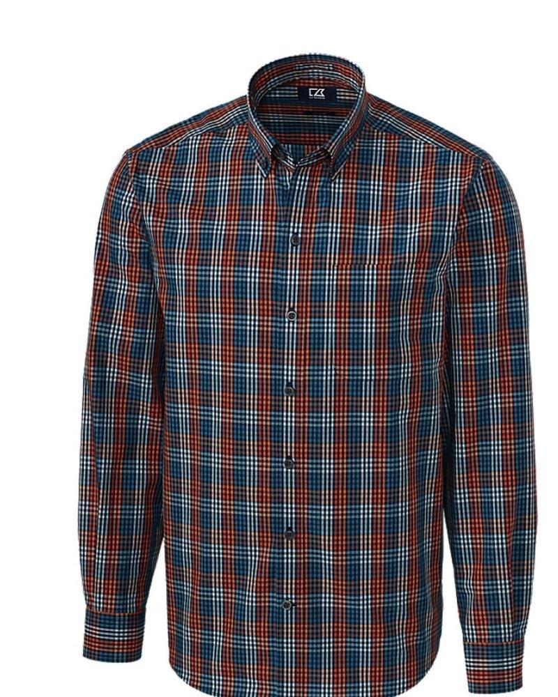CUTTER & BUCK Classic Fit Sutton Check Shirt