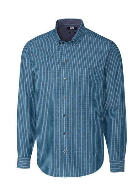 CUTTER & BUCK Classic Fit Brent Check Shirt