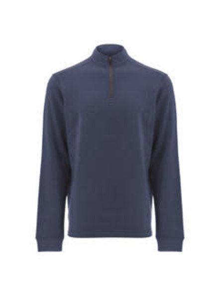 OLD RANCH Blue 1/4 Zip Sweatshirt