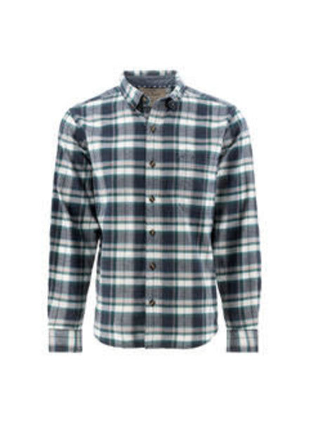 OLD RANCH Classic Fit Green Plaid Shirt