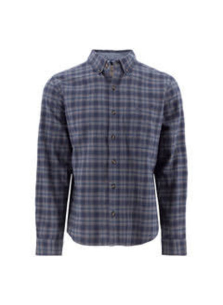 OLD RANCH Classic Fit Blue Plaid Shirt