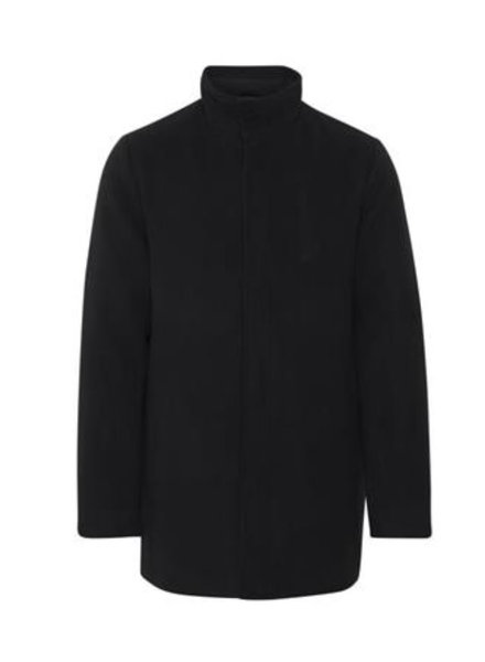 BLEND Black 3/4 Length Car Coat
