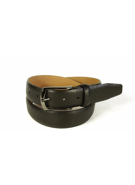 BENCHCRAFT Black Crossboard Belt