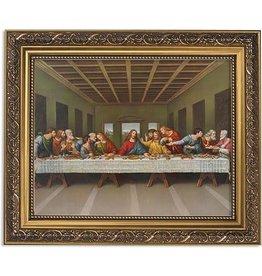 Gerffert Da Vinci Last Supper 11 x 13 Framed Print