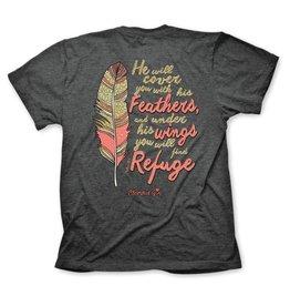 Cherished Girl Cherished Girl Cherished Feathers T-Shirt