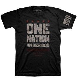 HOLD FAST HOLD FAST Eisenhower One Nation Under God Christian T-Shirt