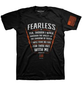 HOLD FAST HOLD FAST Christian T-Shirt Psalm 23:4 Fearless