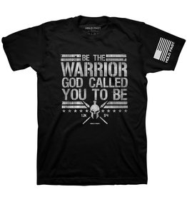 Kerusso HOLD FAST Mens T-Shirt Be The Warrior Large