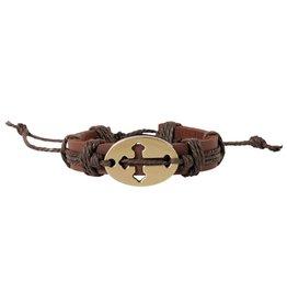 Faith Gear Faith Gear® - Sideways Cross 2 Bracelet