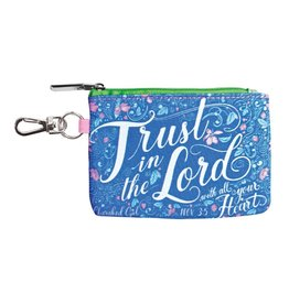 Cherished Girl Cherished Girl Christian Coin Purse Trust In The Lord