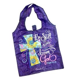 Cherished Girl Cherished Girl Christian Reusable Shopping Bag Be Still