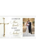 Abbey + CA Gift A Cord of Three Strands Marriage Frame