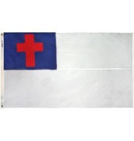 Annin Christian Flag - 2' x 3' Nylon Glo