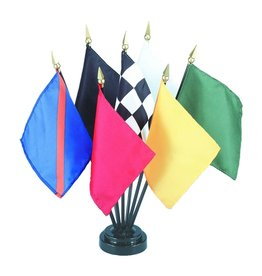 Annin Minature Racing Flag Set
