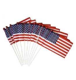 """Annin Saf-T-Ball Mini US Flags - 4"""" x 6"""""""