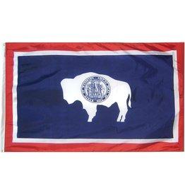 Annin Wyoming State Flag Nylon Flag - 4x6 ft.