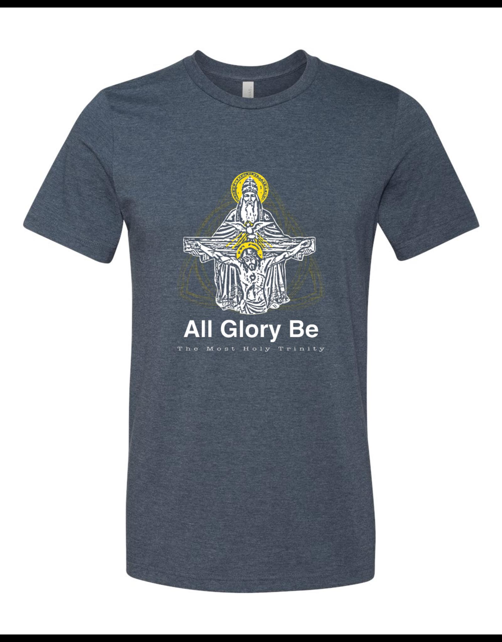 Sock Religious All Glory Be Holy Trinity T-Shirt