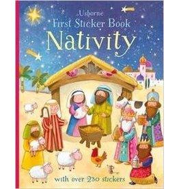 Usborne Books First Sticker Book - Nativity