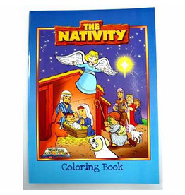 Cactus Game Design The Nativity Coloring Book (Paperback)