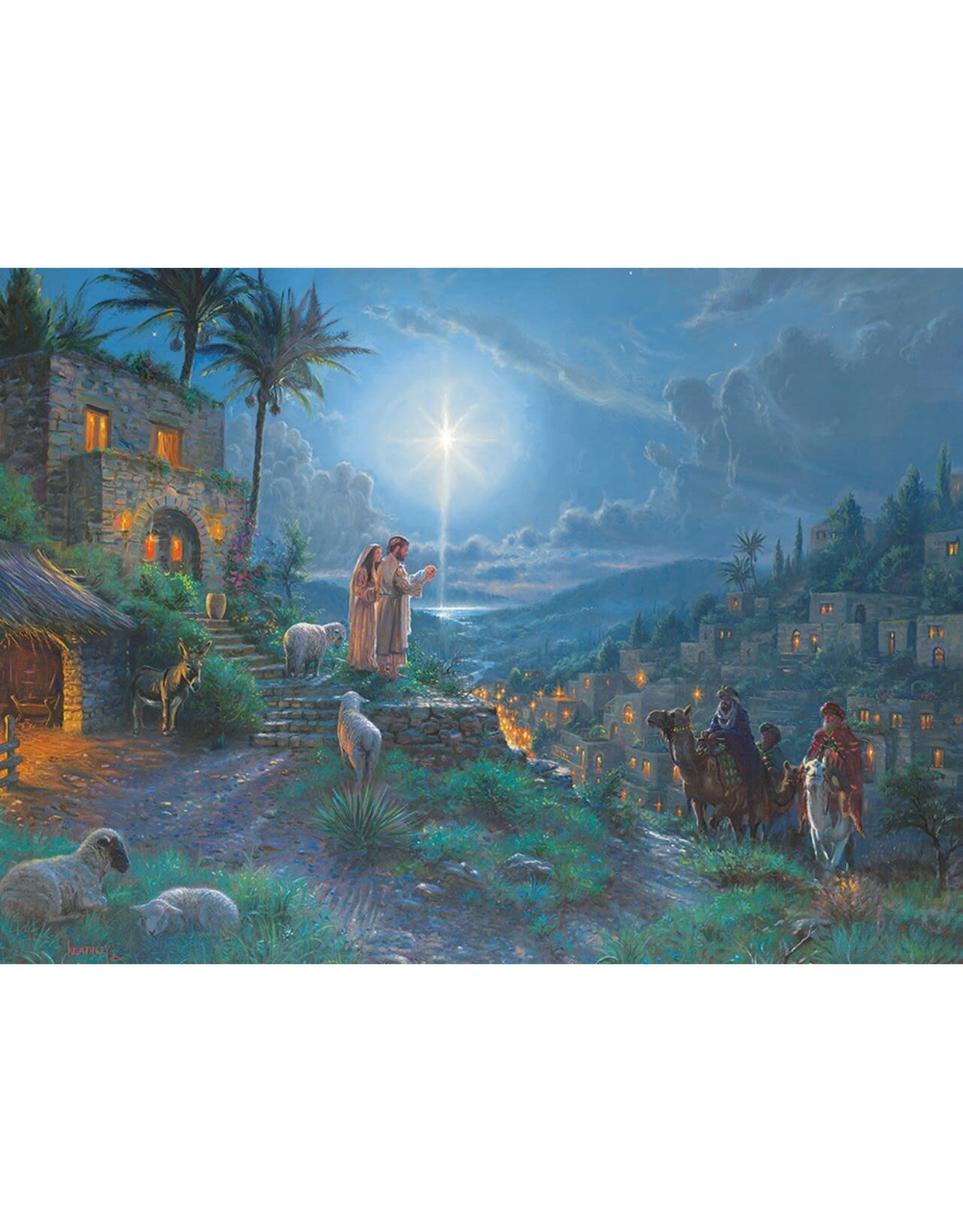 Arrival of the Magi - 1000pc Jigsaw Puzzle by Cobble Hill