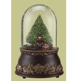 """Roman Musical 7"""" 120mm Tree With Train Dome Revolving"""
