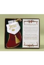 Roman A Stocking For Jesus Ornament