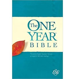 The One Year Bible ESV (Paperback)