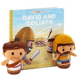 Hallmark itty bittys® David and Goliath Plush and Storybook Set
