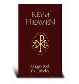 Hirten Key of Heaven: A Prayer Book for Catholics (Red Leather Binding)
