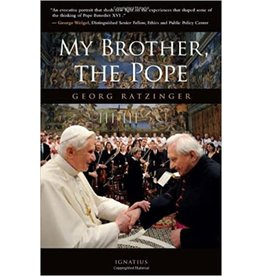 Ignatius Press My Brother, The Pope by Georg Ratzinger (Hardcover)
