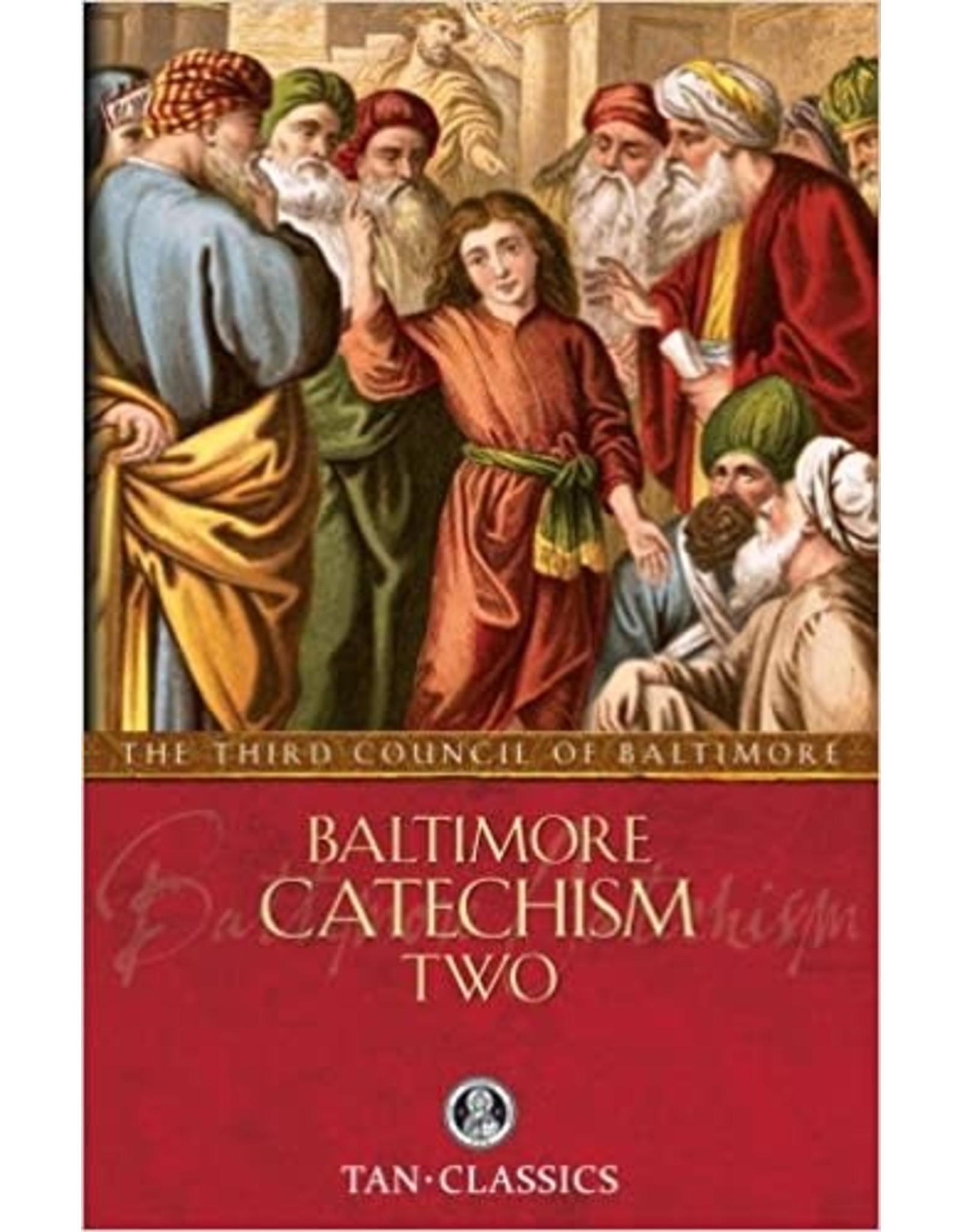 Tan Books Baltimore Catechism Two (with Supplemental Reading: Catholic Prayers) by Rev Thomas Kinkead (Paperback)