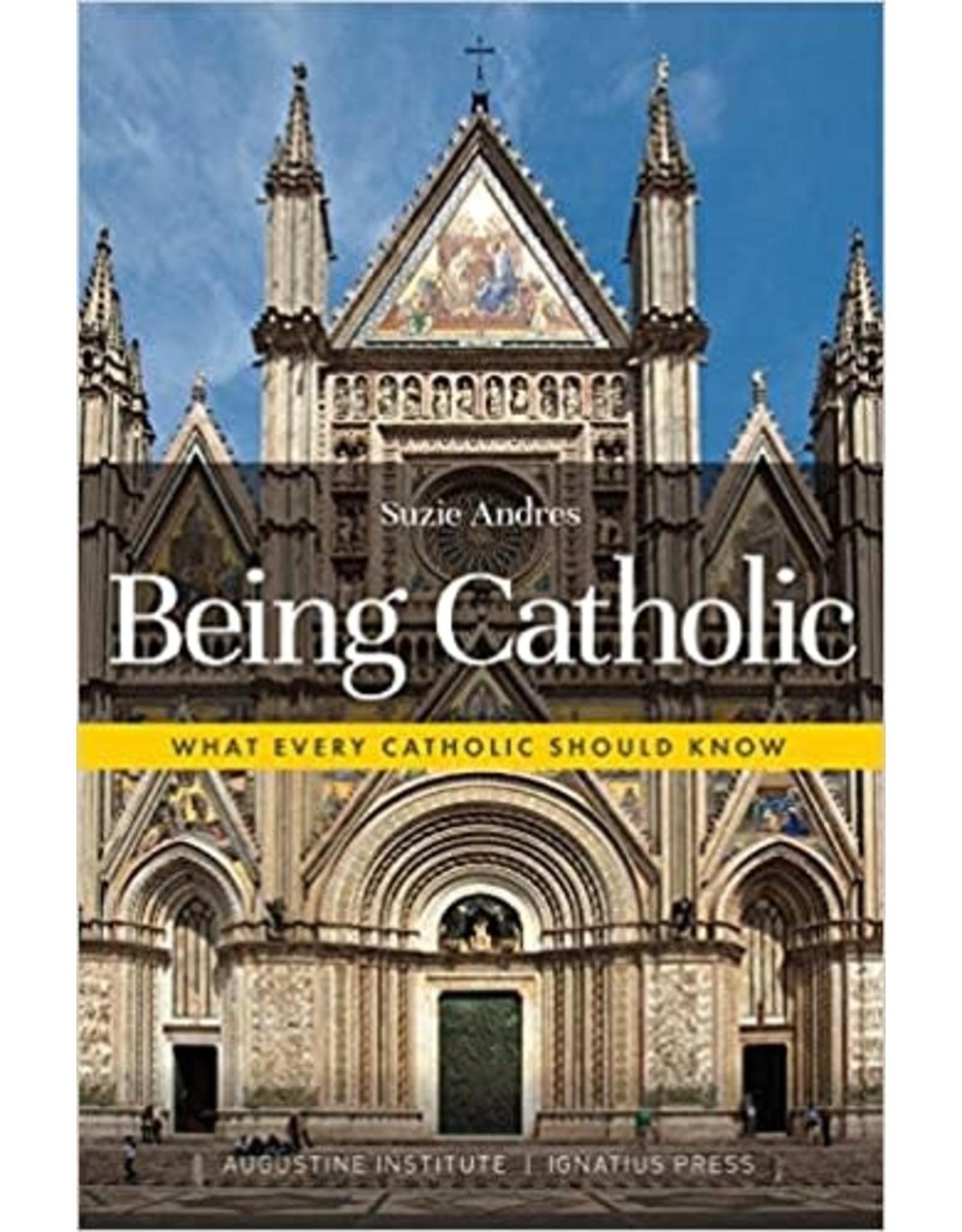 Ignatius Press Being Catholic: What Every Catholic Should Know